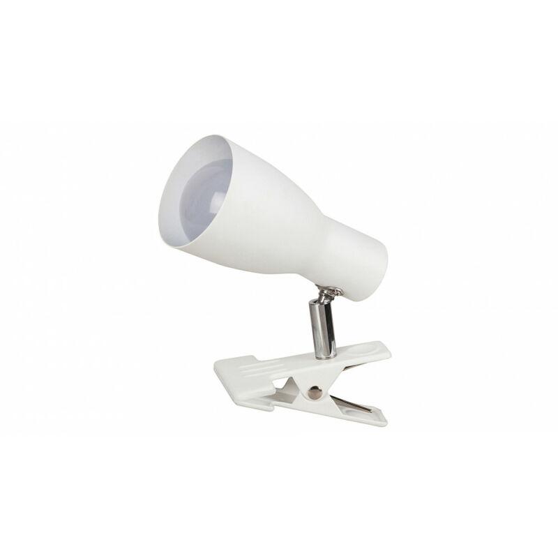 Rábalux Ebony 6026 csiptetős olvasólámpa fehér fém E27 1x MAX 20 E27 1 db IP20