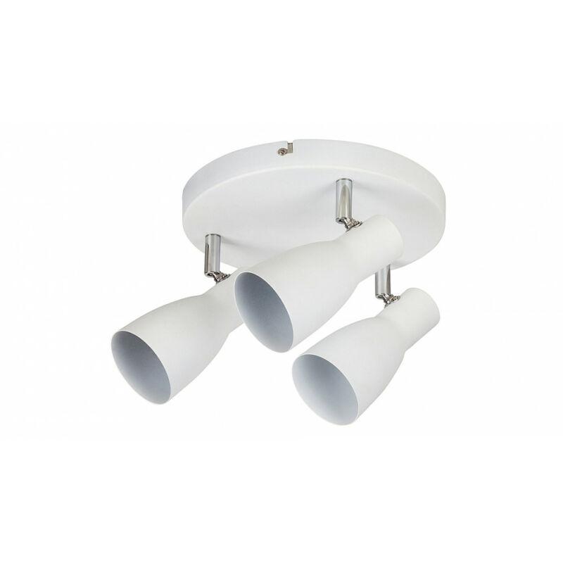 Rábalux Ebony 6028 mennyezeti lámpa  fehér   fém   E27 3x MAX 20W   E27   3 db  IP20