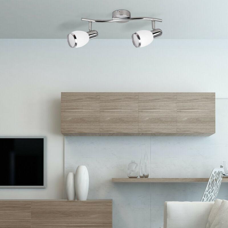 Rábalux Elite 6061 mennyezeti lámpa króm fém E14 2x MAX 40 E14 2 db IP20