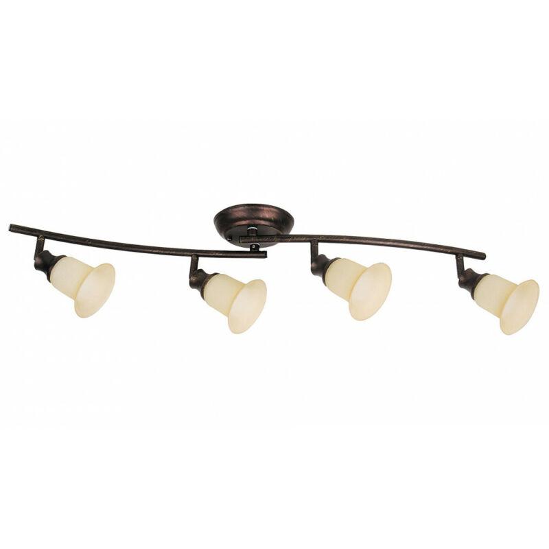 Rábalux Claire 6068 mennyezeti lámpa  barna   fém   E14 4x MAX 40W   IP20