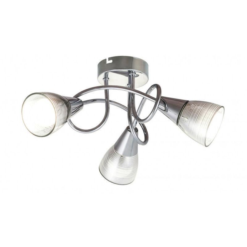 Rábalux Theo 6095 mennyezeti lámpa króm fém E14 3x MAX 40 E14 3 db IP20