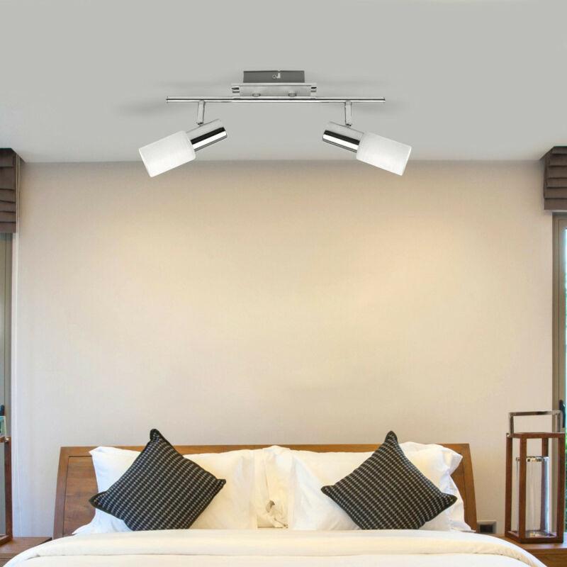 Rábalux Logan 6097 mennyezeti lámpa  króm   fém   E14 2x MAX 40W   IP20