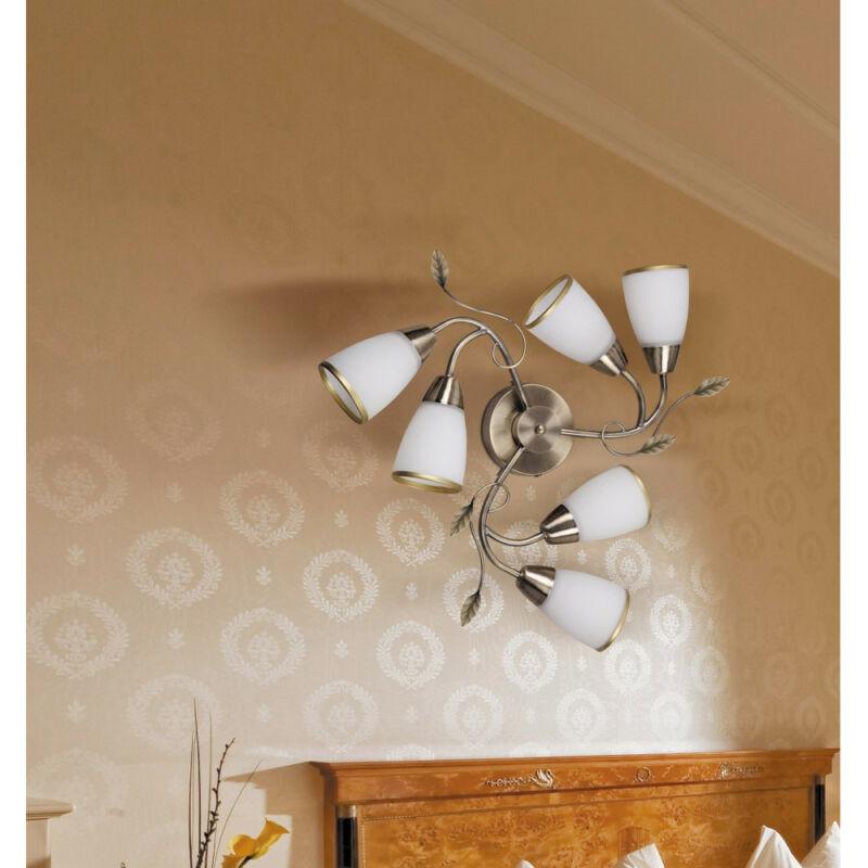 Rábalux Dreambells 6146 mennyezeti lámpa bronz fém E14 6x MAX 40 E14 6 db IP20