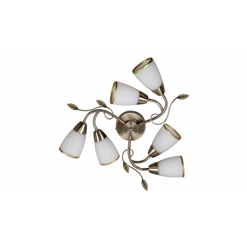 Rábalux Dreambells 6146 mennyezeti lámpa  bronz   fém   E14 6x MAX 40W   IP20