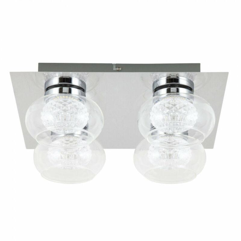 Rábalux Karissa 6229 mennyezeti lámpa króm fém LED 4x 4,8W 4 db 384 lm 4000 K IP20 A