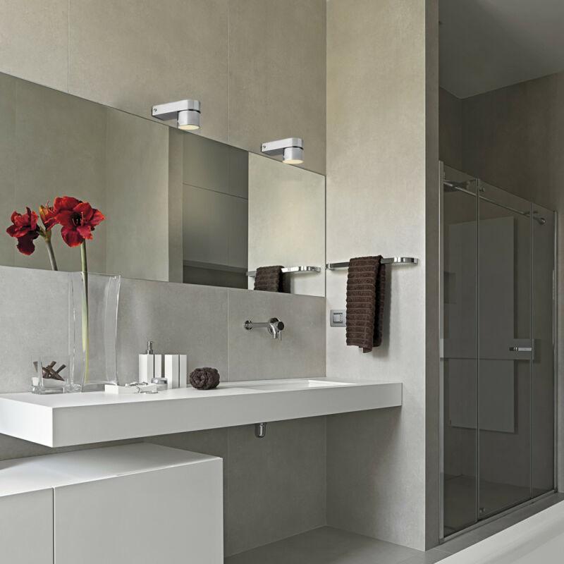 Rábalux Liam 6230 fürdőszoba fali lámpa króm fém LED 5 400 lm 4000 K IP44 A+