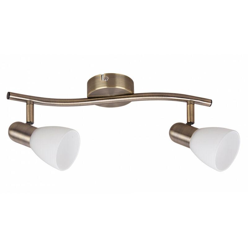 Rábalux Soma 6307 mennyezeti lámpa bronz fém E14 2x MAX 40 E14 2 db IP20