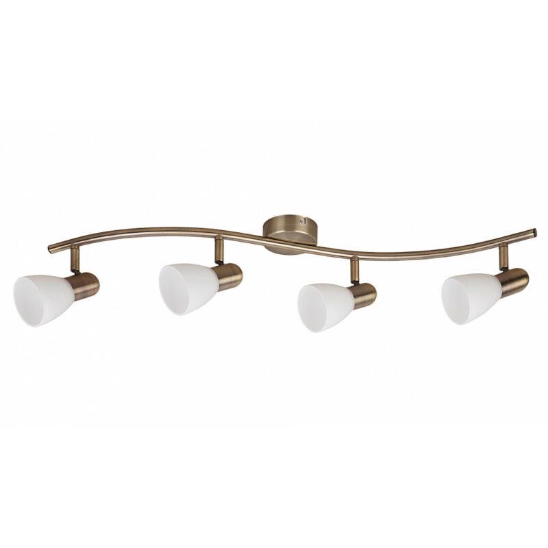 Rábalux Soma 6309 mennyezeti lámpa  bronz   fém   E14 4x MAX 40W   IP20