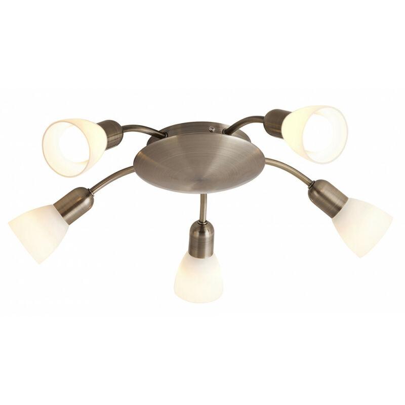 Rábalux Soma 6310 mennyezeti lámpa bronz fém E14 5x MAX 40 E14 5 db IP20