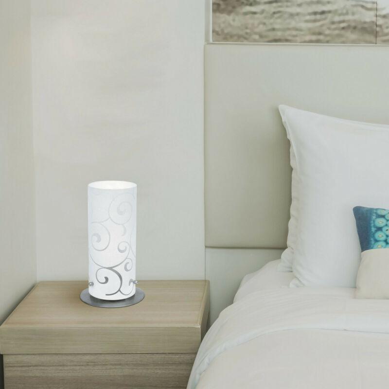 Rábalux Harmony Lux 6393 asztali lámpa szatin króm fém E27 1x MAX 60 E27 1 db IP20