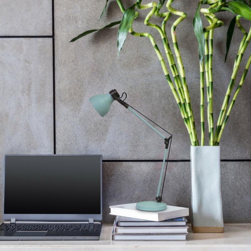 Rábalux Carter 6409 íróasztal lámpa menta fém E14 1X MAX 11 E14 1 db IP20