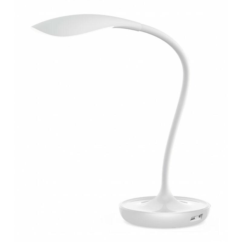 Rábalux Belmont 6418 íróasztal lámpa fehér műanyag LED 5 400 lm 3000 K IP20 A+