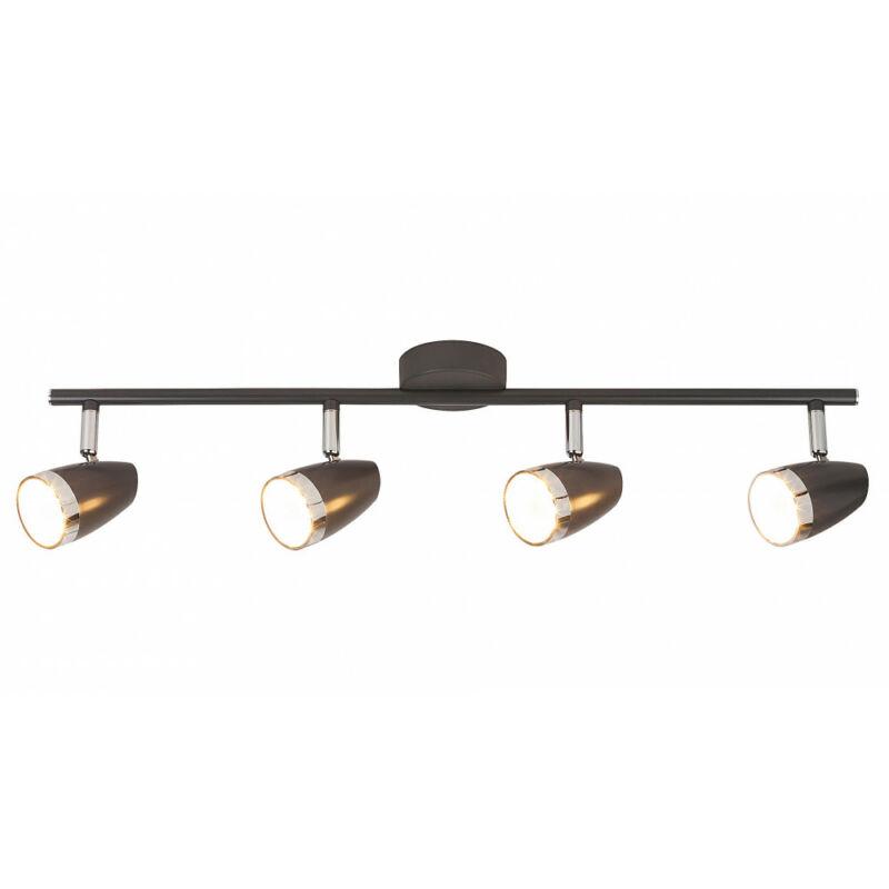 Rábalux Karen 6515 mennyezeti spot lámpa antracit fém/ műanyag LED 4x 4 1120 lm 3000 K IP20 A