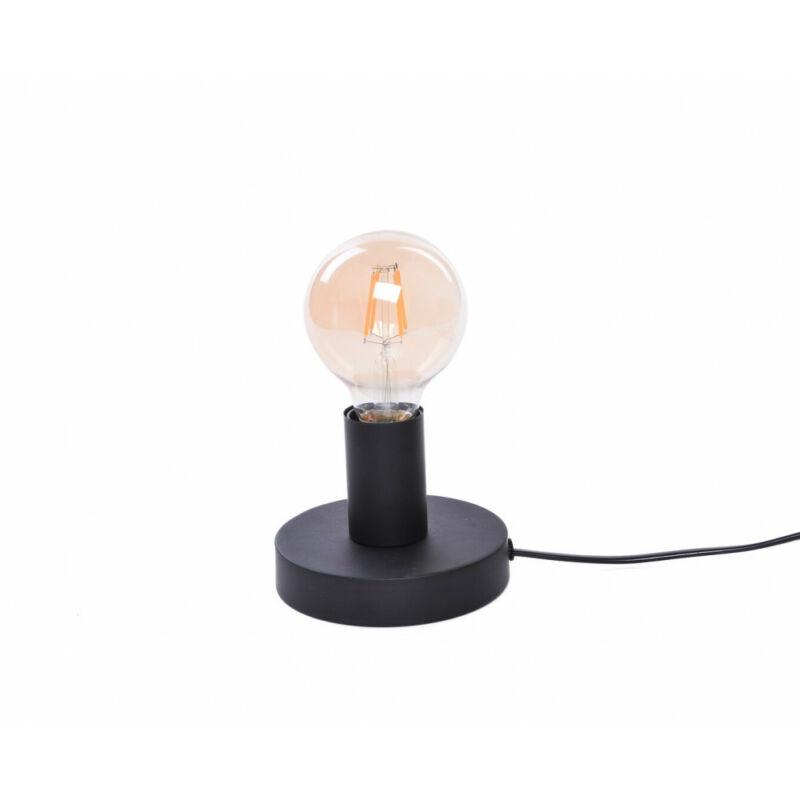 Rábalux Bowie 6569 éjjeli asztali lámpa fekete fém E27 1x MAX 60 E27 1 db IP20
