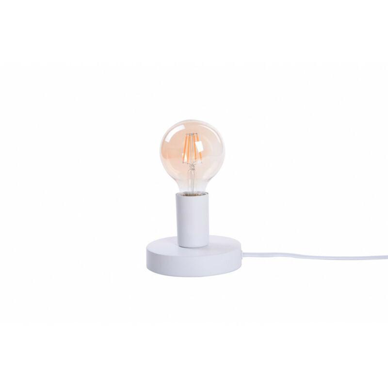 Rábalux Bowie 6570 éjjeli asztali lámpa fehér fém E27 1x MAX 60 E27 1 db IP20