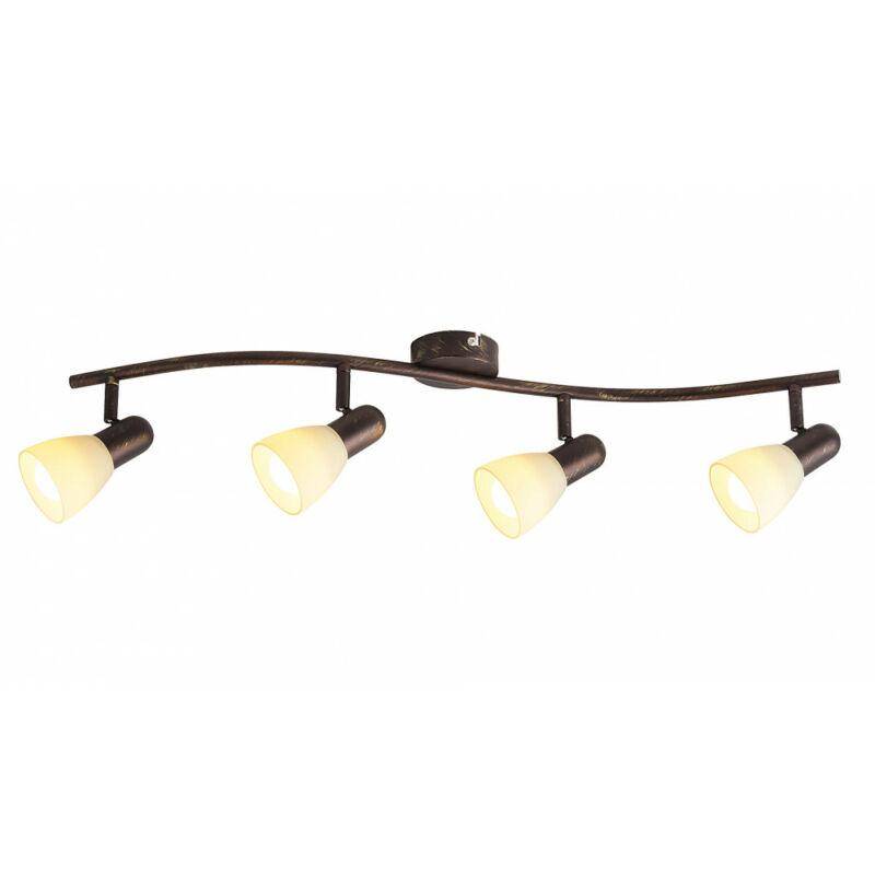 Rábalux Soma 6594 mennyezeti lámpa antik barna fém E14 4x MAX 40 E14 4 db IP20