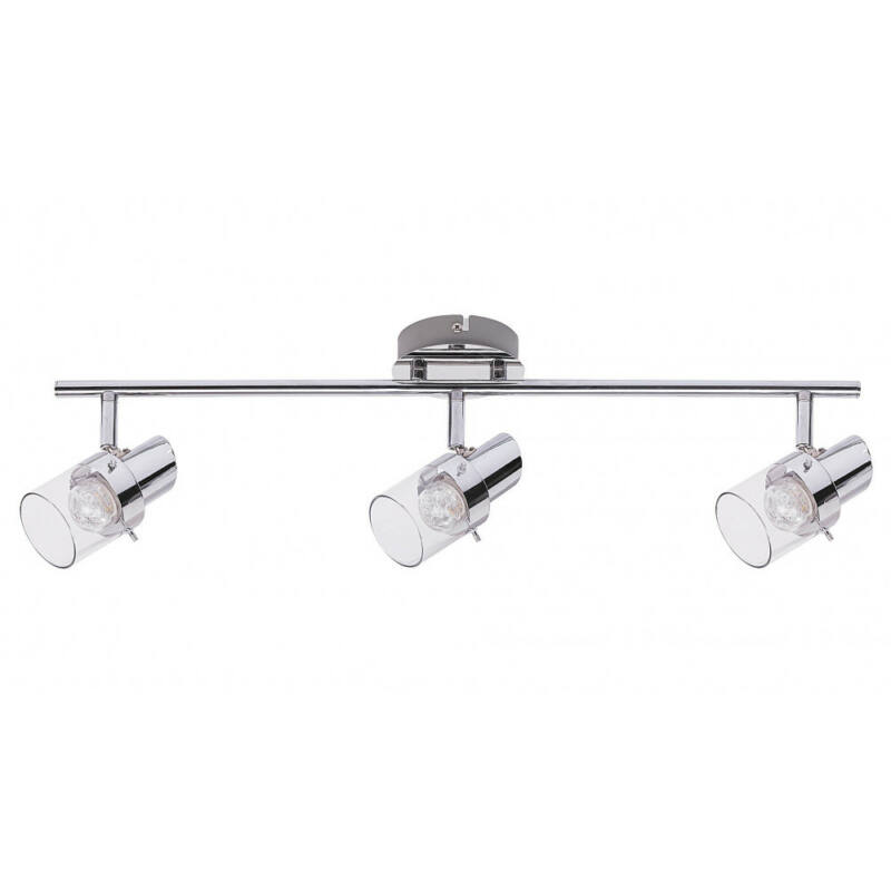 Rábalux Dakota 6673 mennyezeti lámpa  króm   fém   LED 3x 4,5W   1080 lm  3000 K  IP20   A+