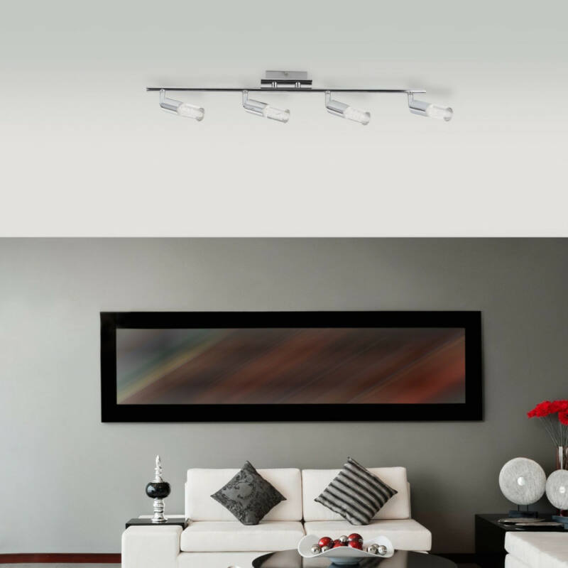 Rábalux Angela 6678 mennyezeti lámpa  króm   fém   LED 16W   4 db  1120 lm  3000 K  IP20   A