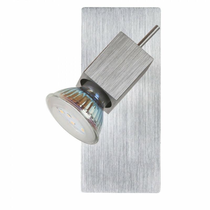 Rábalux Agata 6757 fali spotlámpa súrolt alumínium fém GU10 1x MAX 50W GU10 1 db 400 lm 3000 K IP20 A+