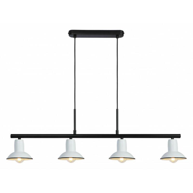 Rábalux Maliet 6789 étkező lámpa fehér fém E14 4x MAX 40 E14 4 db IP20