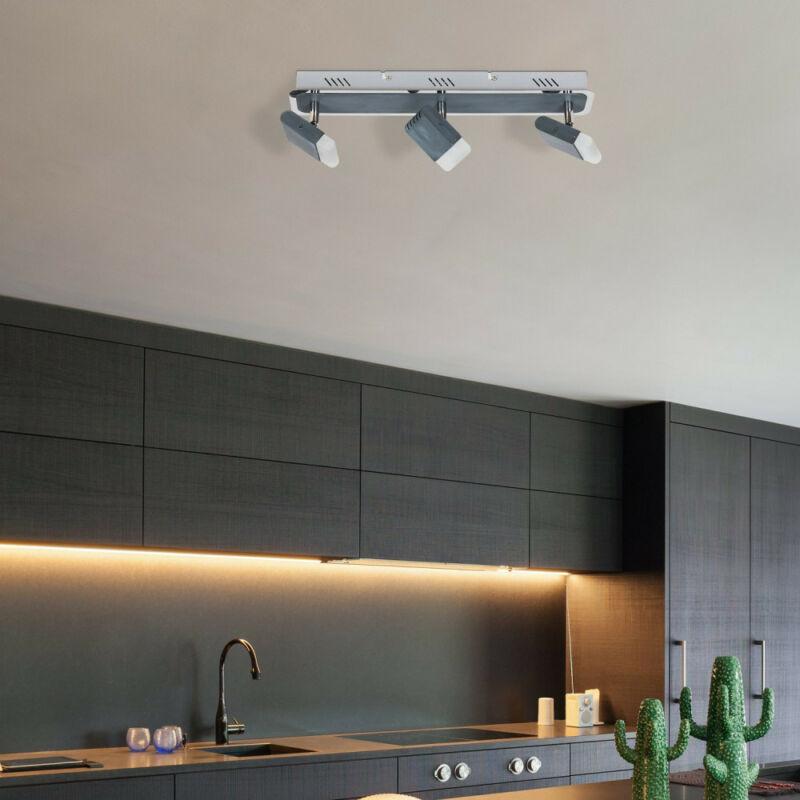 Rábalux Marcus 6819 mennyezeti lámpa  szürke   fém   LED 3x 5W   960 lm  3000 K  IP20   A+
