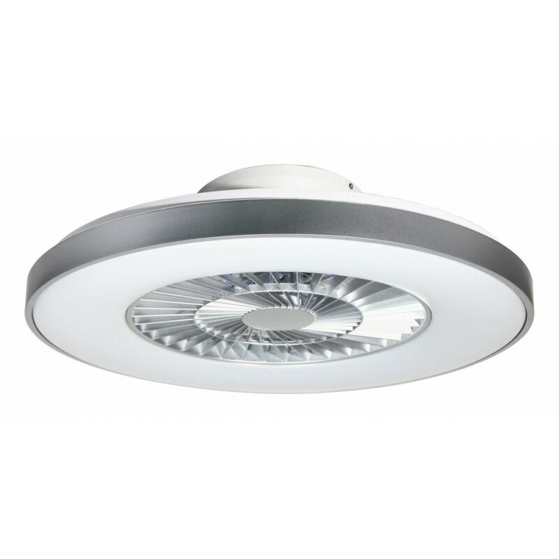Rábalux Dalfon 6858 mennyezeti ventilátor ezüst fém LED 40 1700 lm IP20 B
