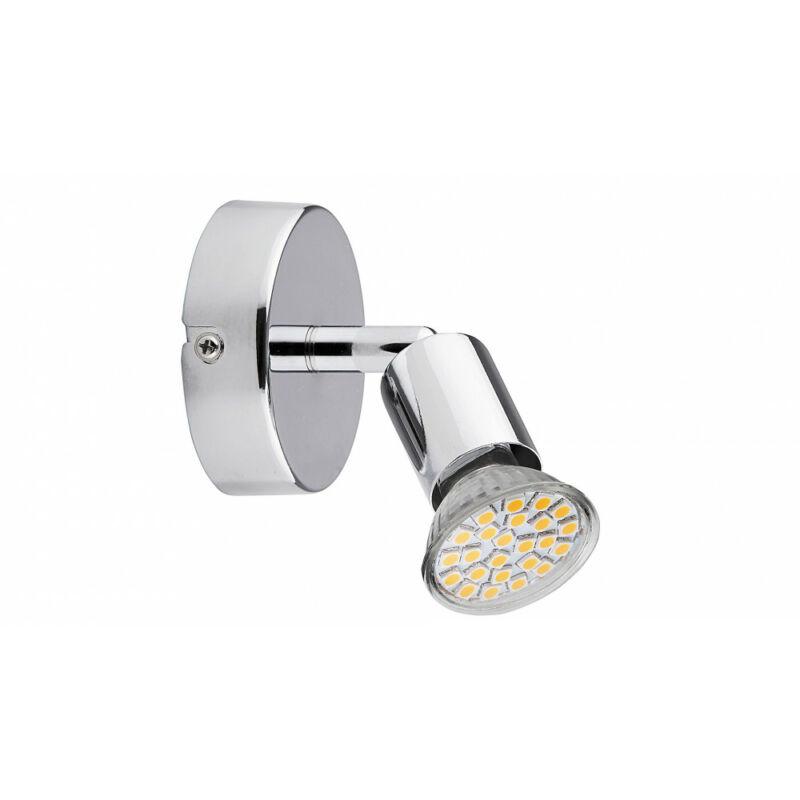 Rábalux Norton LED 6986 fali spotlámpa króm fém GU10 1x MAX 50 GU10 1 db 220 lm 3000 K IP20 A+