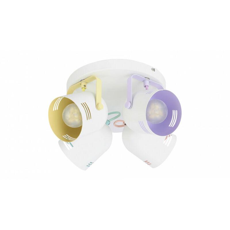Rábalux Minuet 7014 mennyezeti spot lámpa fehér fém E14 4x MAX 40 E14 4 db IP20
