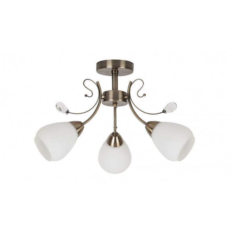 Rábalux Susan 7043 mennyezeti lámpa bronz fém E27 3x MAX 60 E27 3 db IP20