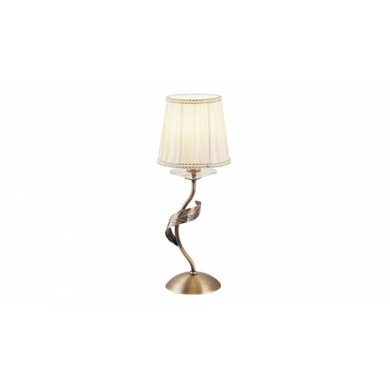 Rábalux Claudia 7280 éjjeli asztali lámpa bronz fém/ üveg/ üveg kristály E14 1x MAX 40 E14 1 db IP20