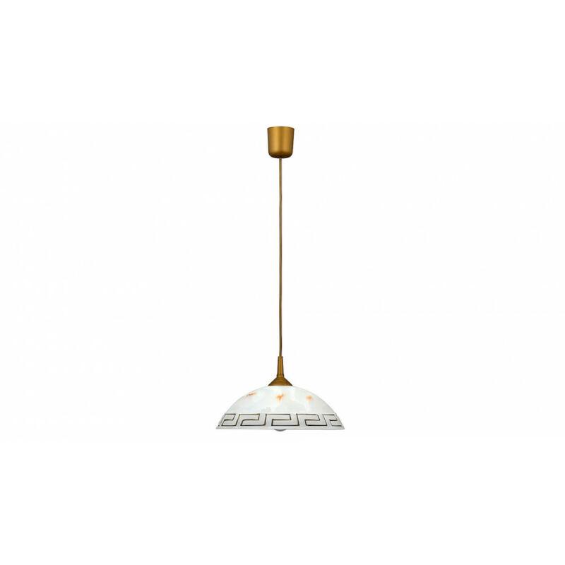 Rábalux Etrusco 7652 konyhai csillár bronz műanyag E27 1x MAX 60 E27 1 db IP20