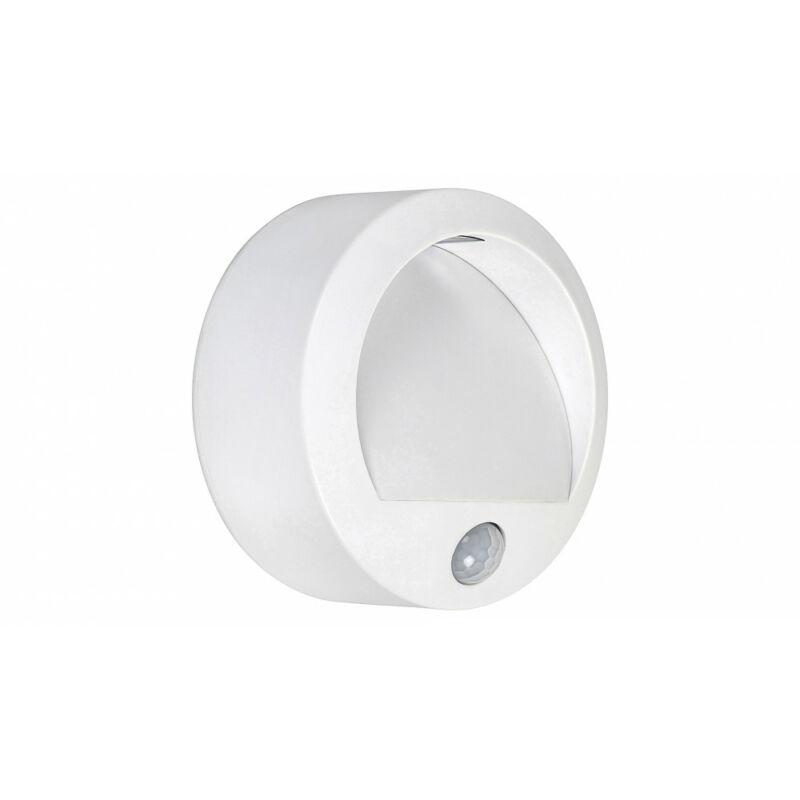 Rábalux Amarillo 7980 mozgásérzékelős fali lámpa fehér műanyag LED 1,5 50 lm 3000 K IP44