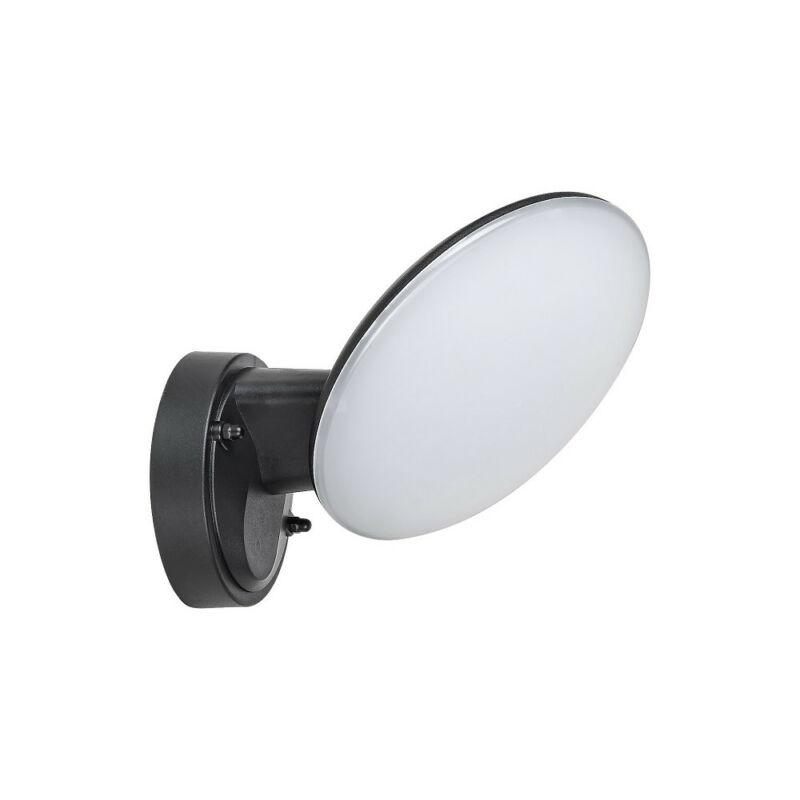 Rábalux Varna 8134 kültéri falikar fekete műanyag LED 12 720 lm 4000 K IP54 A