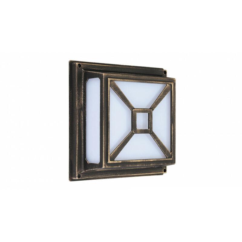 Rábalux Darius 8190 kültéri mennyezeti lámpa antik arany fém E27 2x MAX 60 E27 2 db IP54