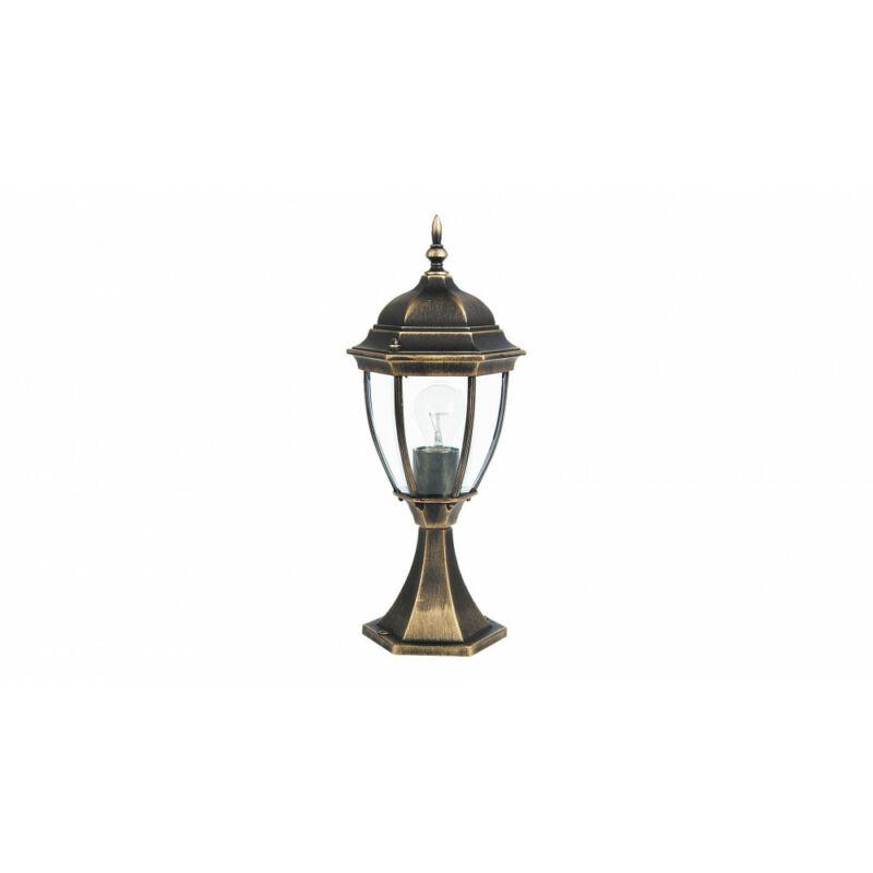 Rábalux Toronto 8383 kültéri fali lámpa antik arany fém E27 1x MAX 60 E27 1 db IP44