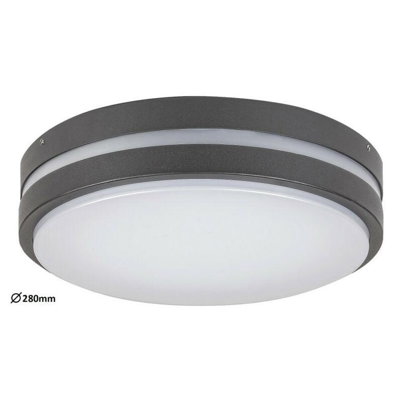 Rábalux Hamburg 8848 kültéri mennyezeti led lámpa antracit fém LED 12 900 lm 4000 K IP44 G
