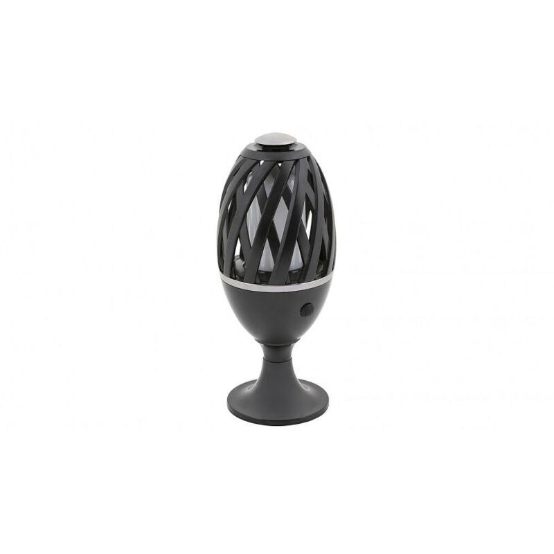 Rábalux Flamenco 8946 kültéri leszúrható lámpa fekete műanyag LED 5 6 lm 1500 K IP65