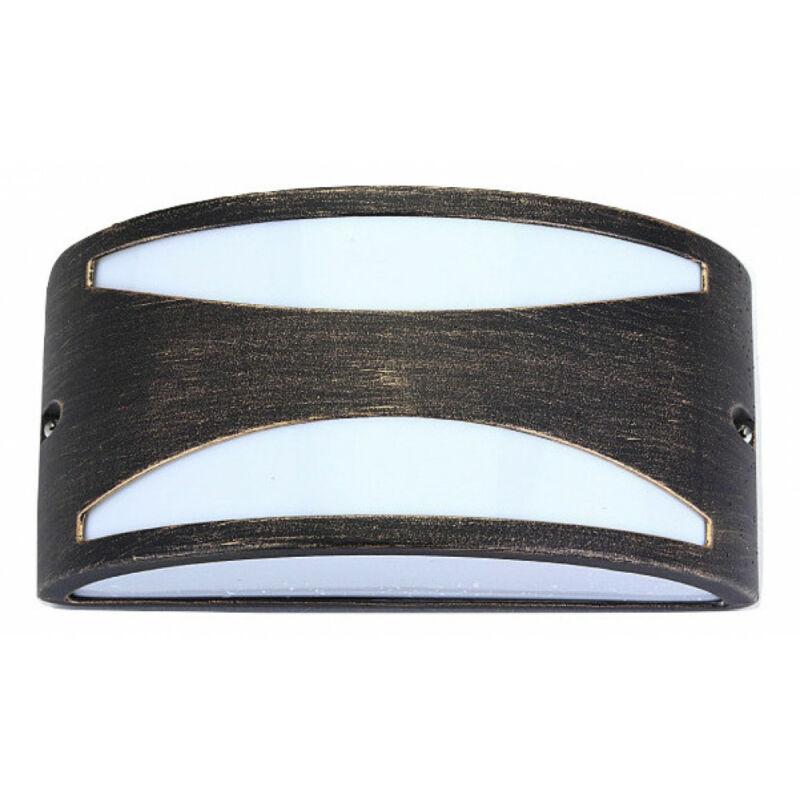 Rábalux Manhattan 8510 kültéri fali lámpa antik arany fém E27 1x MAX 60 E27 1 db IP54