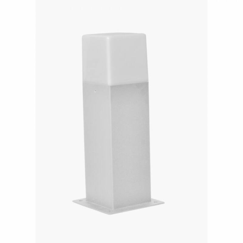 Trio HUDSON 520060187 kültéri led állólámpa ezüst alumínium incl. 1 x E14, 4W, 3000K, 320Lm E14 1 db