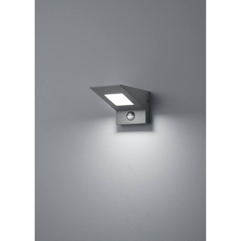 Trio NELSON 225369142 kültéri fali led lámpa incl. 9W LED/ 3000K/ 680Lm