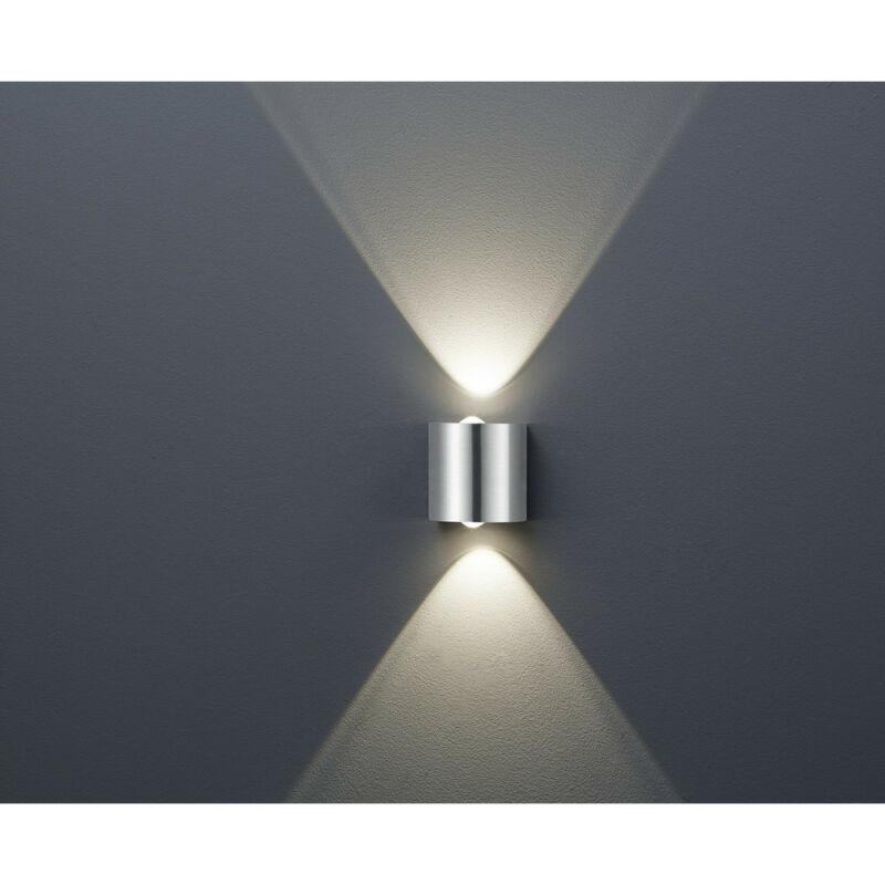 Trio WALES 225510207 fali lámpa matt nikkel fém incl. 2 x SMD, 3,2W, 3000K, 300Lm SMD 2 db 300 lm 3000 K IP20