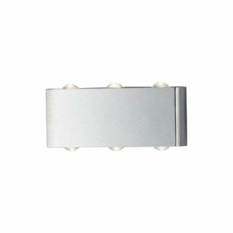 Trio ABERDEEN 225610607 fali lámpa matt nikkel fém incl. 6 x SMD, 1W, 3000K, 100Lm 100 lm 3000 K IP20 A++