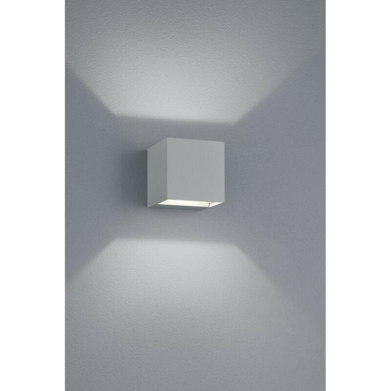 Trio ADAJA 226860287 kültéri fali led lámpa titán fröccsöntött alumínium incl. 2 x SMD, 3W, 3000K, 240Lm SMD 2 db 240 lm IP54 A+