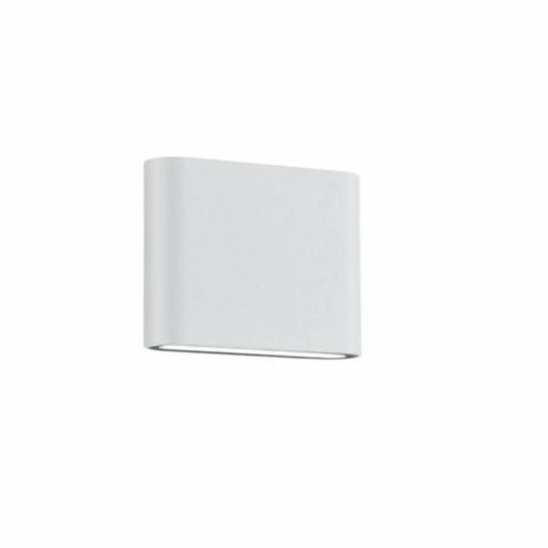 Trio THAMES II 227560231 kültéri fali led lámpa matt fehér alumínium incl. 2 x SMD, 2,5W, 3000K, 260Lm 260 lm 3000 K IP54 A++