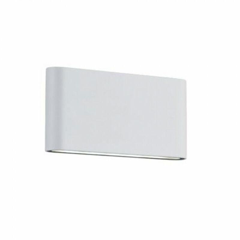 Trio THAMES II 227660231 kültéri fali led lámpa matt fehér alumínium incl. 2 x SMD, 4,5W, 3000K, 400Lm 400 lm 3000 K IP54 A+