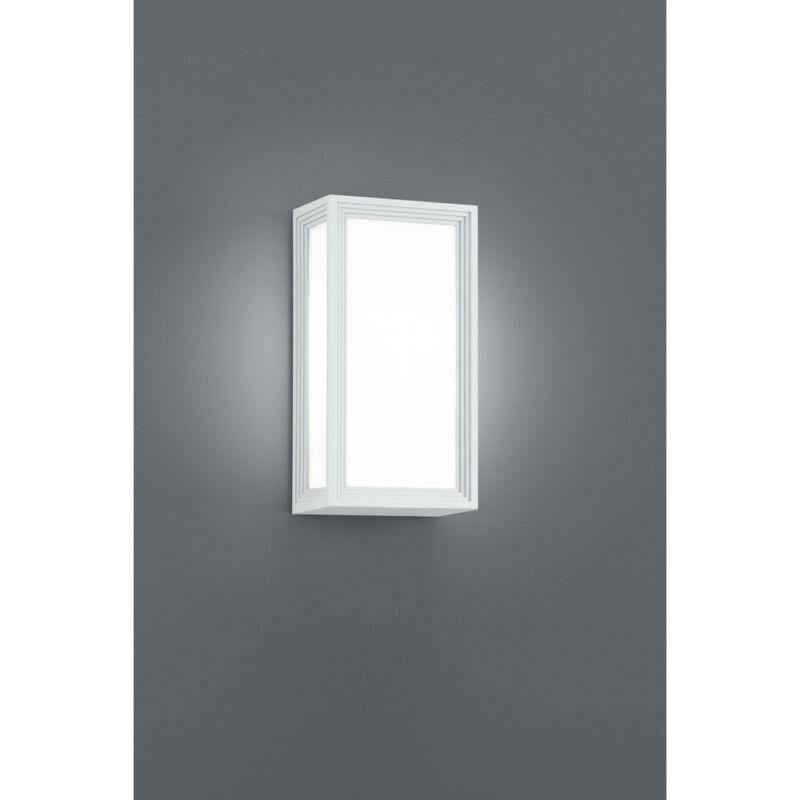 Trio TIMOK 228060101 kültéri fali led lámpa fehér alumínium incl. 1 x E27, 5W, 3000K, 470Lm E27 1 db 470 lm 3000 K IP54 A+
