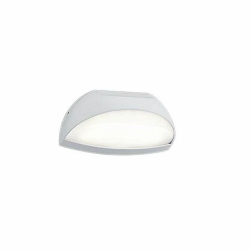Trio MUGA 228360101 fali lámpa fehér alumínium incl. 1 x SMD, 5W, 3000K, 550Lm 550 lm 3000 K IP54 A+