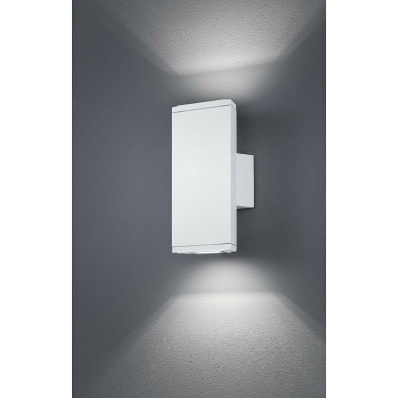 Trio COLORADO 228460231 fali lámpa fehér alumínium incl. 2 x SMD, 3W, 3000K, 260Lm SMD 2 db 260 lm 3000 K IP54