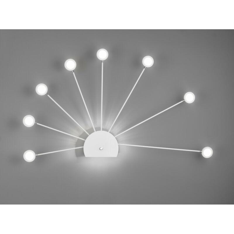 Trio PEACOCK 279570931 falikar incl. 9x2,6W LED/ 4000K/ 9x260Lm