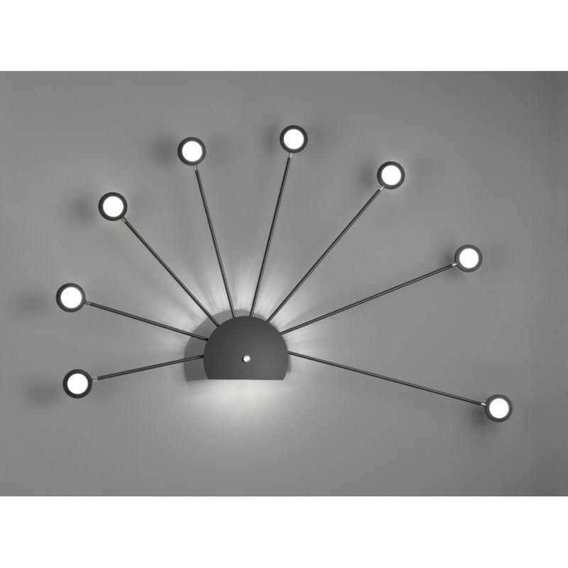 Trio PEACOCK 279570932 falikar incl. 9x2,6W LED/ 3000K/ 9x260Lm